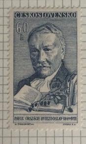 Pavol Országh Hviezdoslav (1849-1921), poet