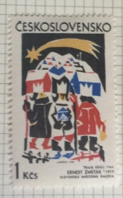 The Three Kings, by Ernest Zmetak (1966)
