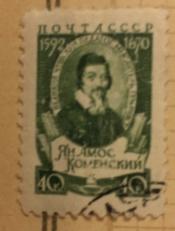 Портрет Я.Коменского,чешского педагога-гуманиста