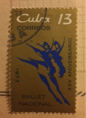 25 years Cuban National Ballet