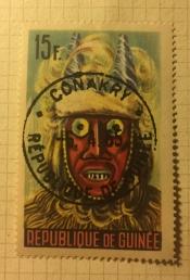 Various Niamou masks, N'Ze´re´kore´ region