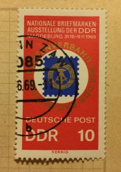 20 years DDR stamp exposition