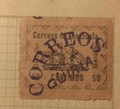 VENEZUELA MARIÑO 1903 LOCAL STEAMSHIP