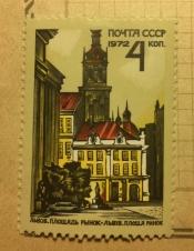 Львов. Площадь Рынок. Старая ратуша