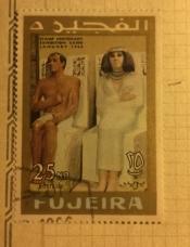 Statues of Prince Rahotep and Princess Nofret