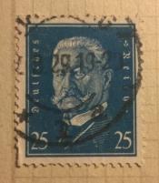 Paul von Hindenburg (1847-1934), 2nd President