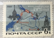 Схема Волго- Балтийского водного пути