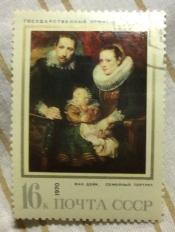 """Ван Дейк Антонис (1599-1641).""""Семейный портрет"""" (1618-1621)"""