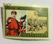 """Части молодой Красной Армии.(По плакату Д. Моора """"Ты записался добровольцем?"""""""