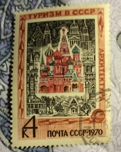 Архитектура.Храм Василия Блаженного в Москве