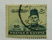 King Farouk in front of Cairo Citadel