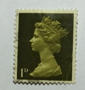 Queen Elizabeth II - Predecimal Machin