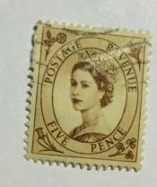 Queen Elizabeth II - Predecimal Wilding