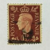 Марка › King George VI