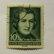 Heinrich Heine (1797-1856), poet and satirist